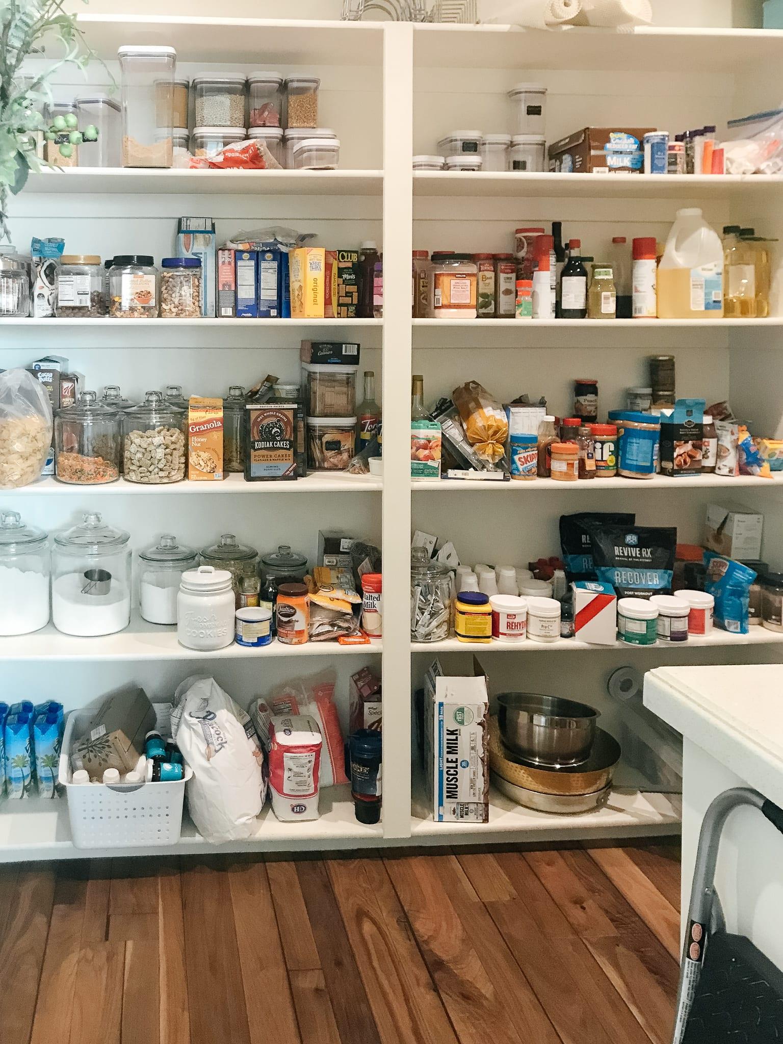 Pantry Organization Tips For Shelves
