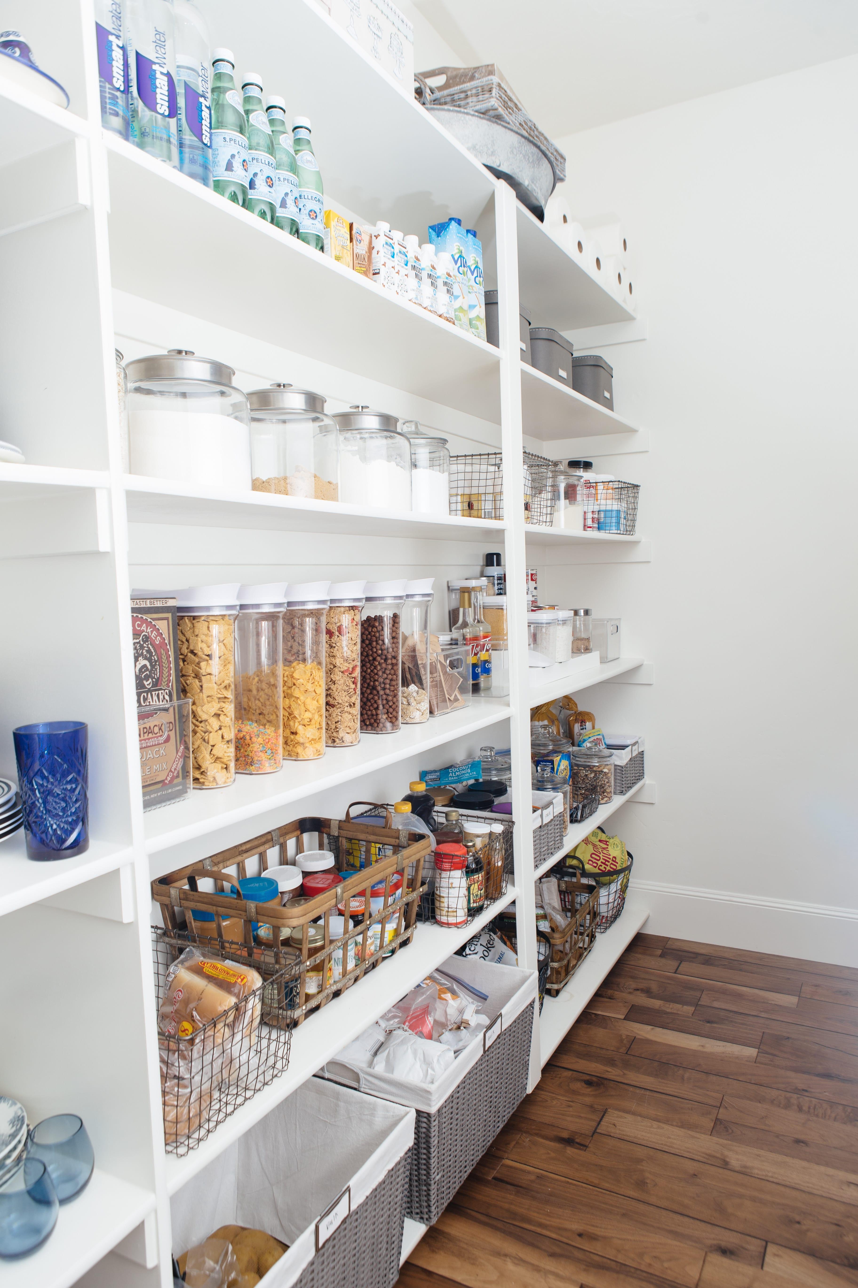 Pantry Shelf Organization Tips