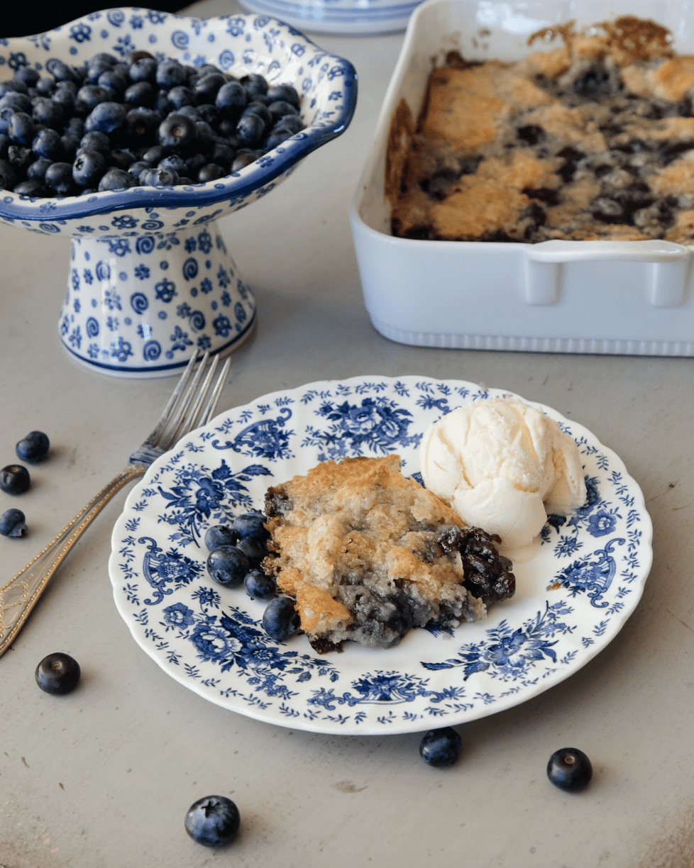fresh blueberry cobbler recipe