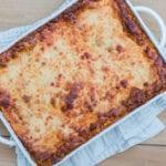 Homemade Lasagna Pasta Marinara Bolognese