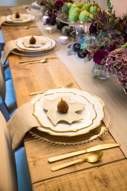 fall decor entertaining tablescape home decor entertaining ideas dinner table place setting set the table