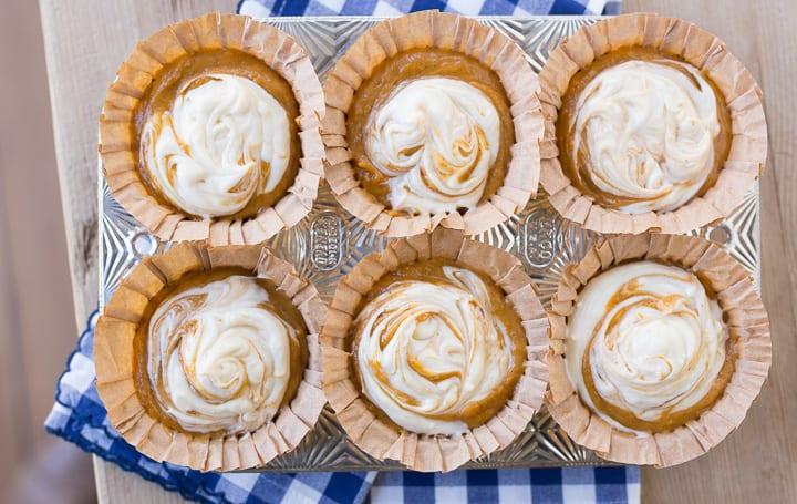 pumpkin recipes fall recipes muffins cream cheese baking dessert brunch hostess entertaining butter sugar