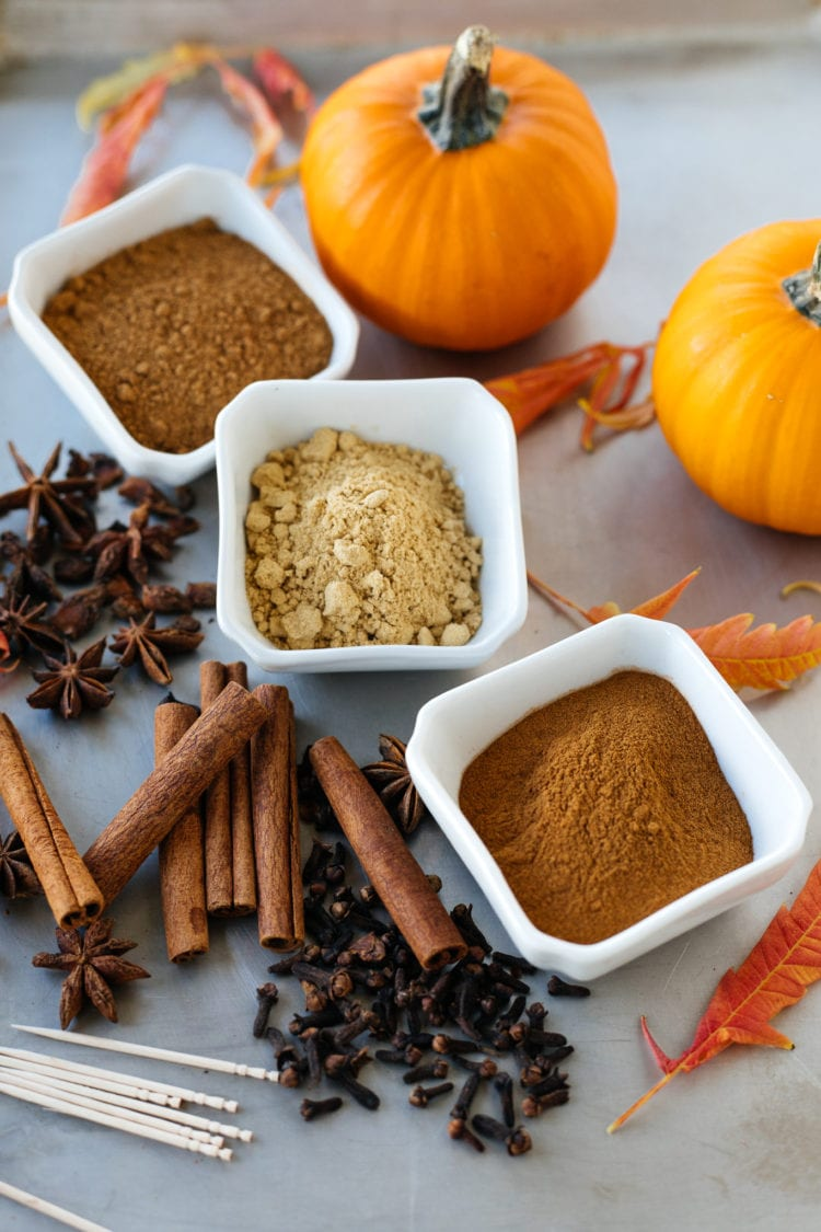 pumpkin pie spice spices pumpking baking fall recipes