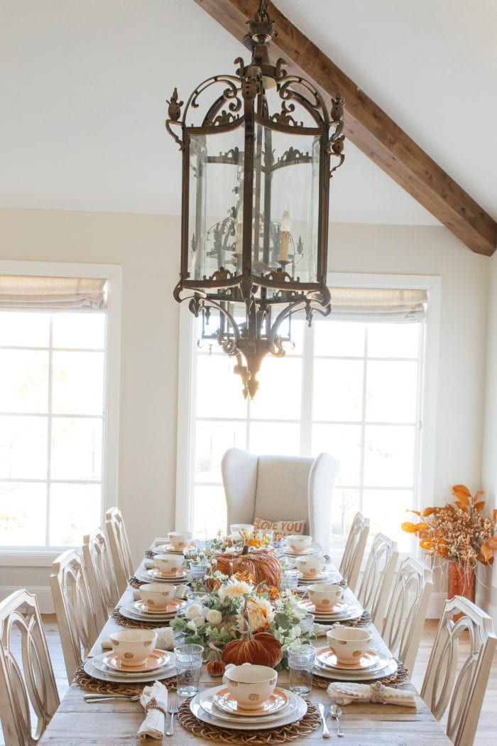 Holliday Hosting at Home #2: Fall Tablescapes and Home Decor