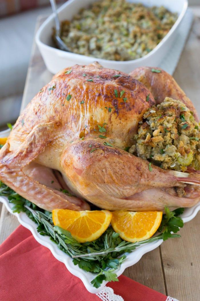 Brined Thanksgiving Turkey
