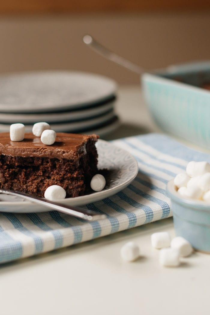 Aunt Jeanie's Chocolate Cake