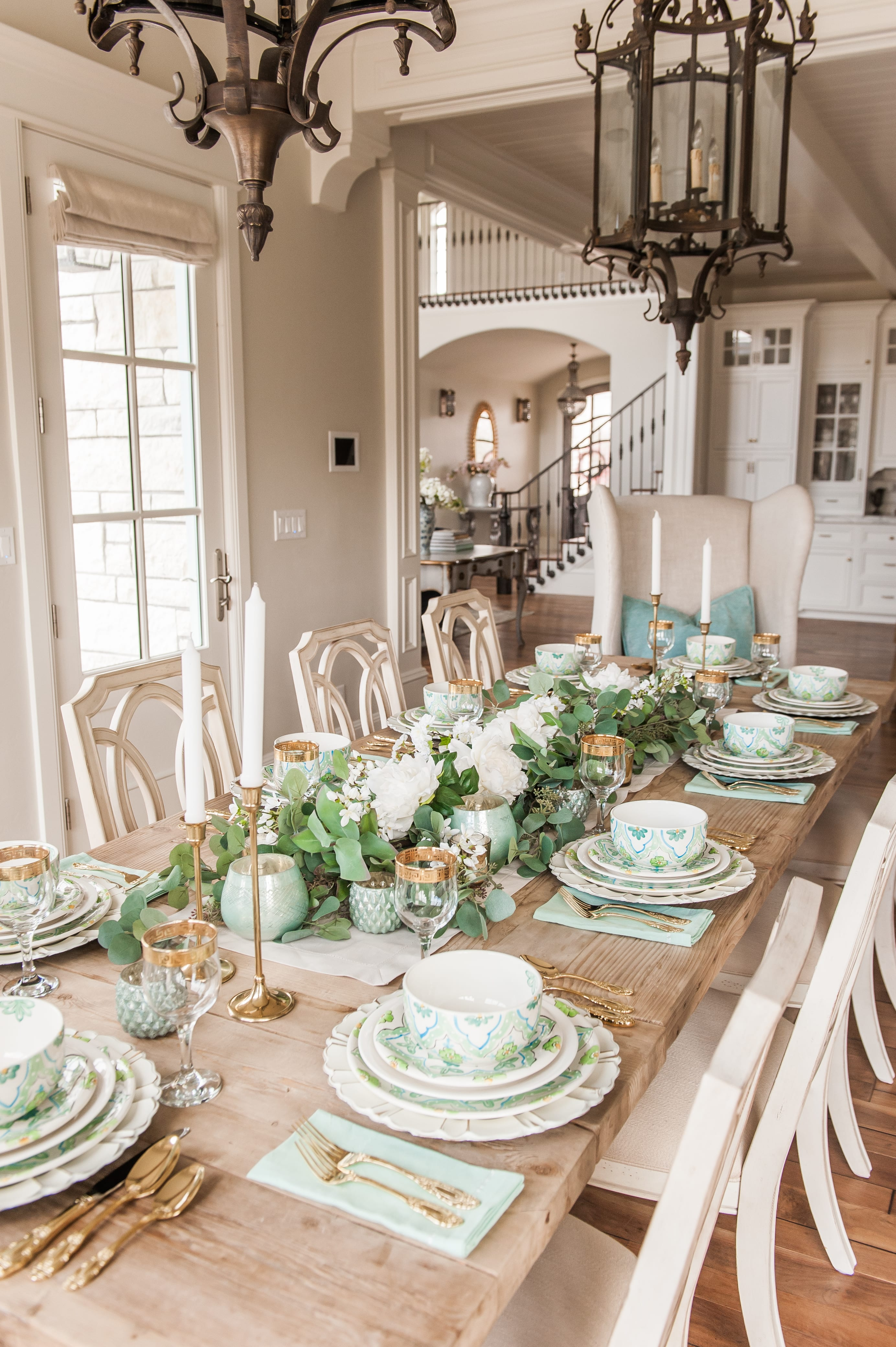 Tablescape For St Patricks Day Spring And Easter Home With Holly