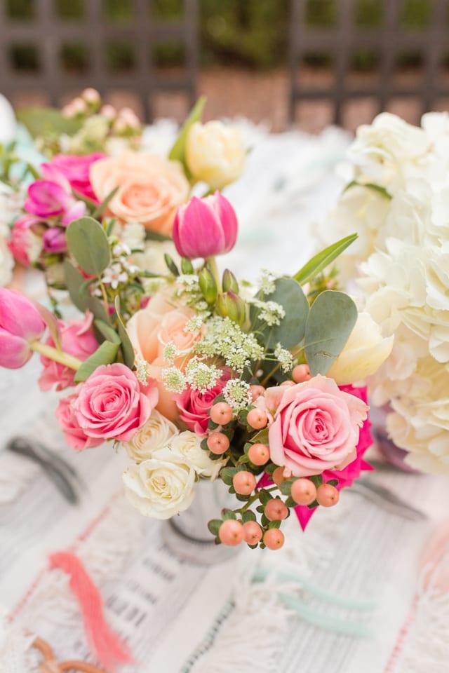 flowers, centerpiece, floral arrangement