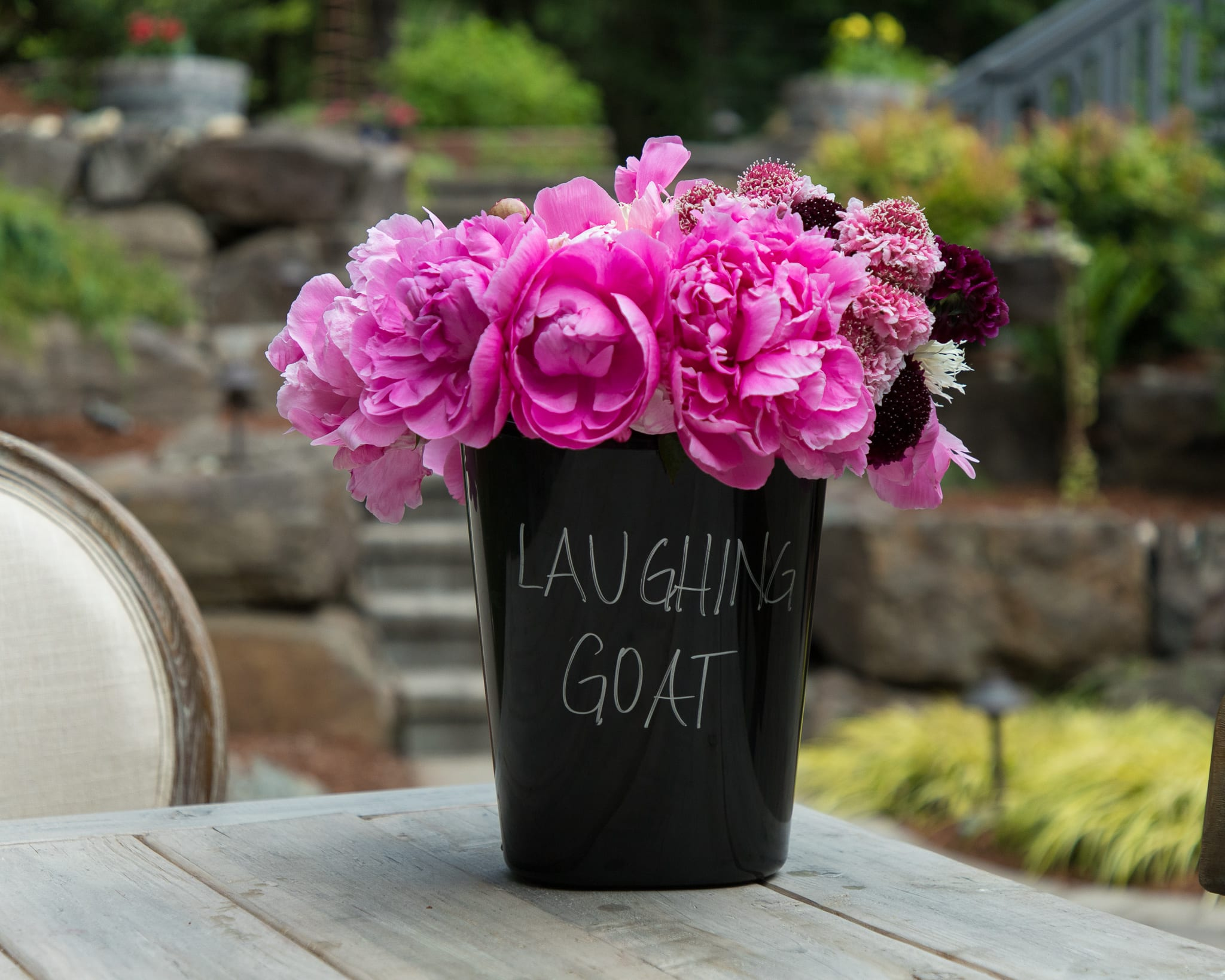 laughing goat flower farm peonies