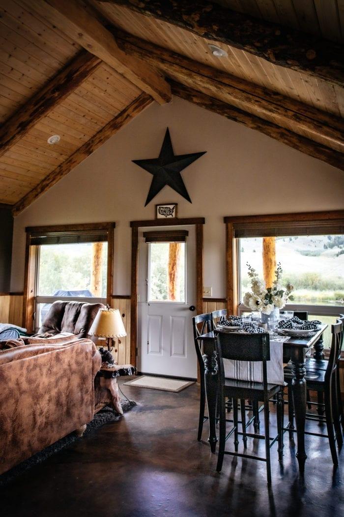Montana Cabin Home Tour