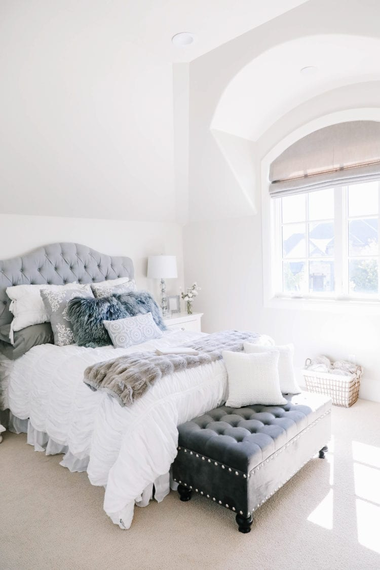 Gray Guest Room Reveal