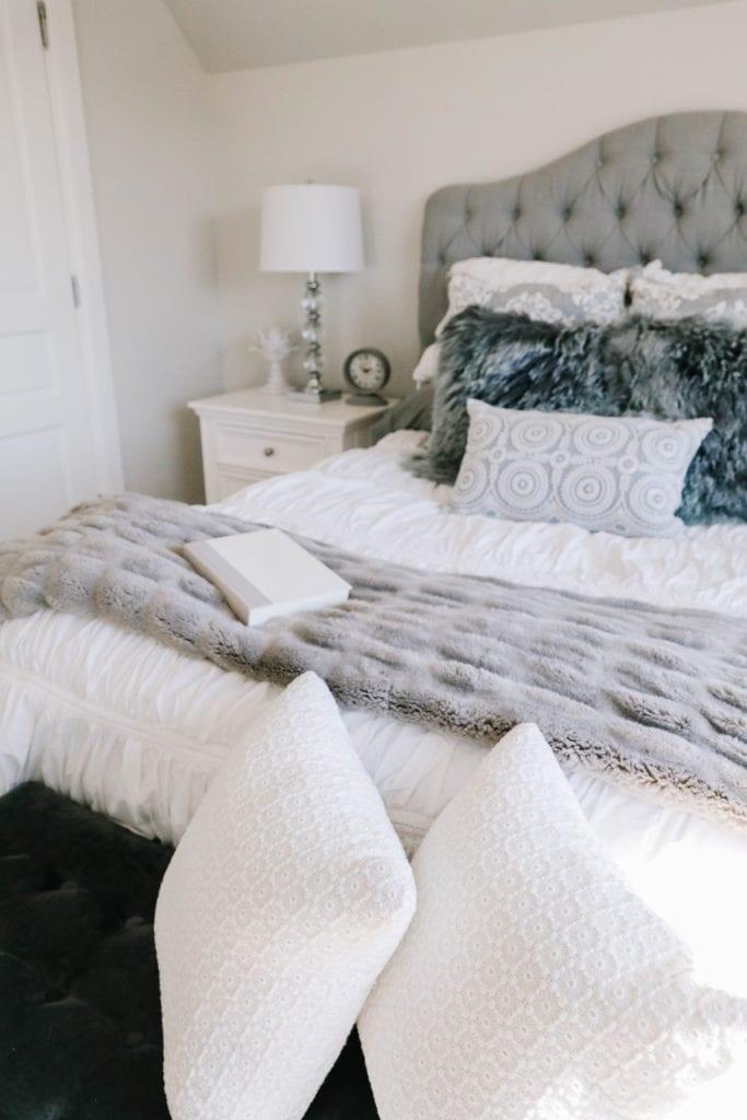 gray guest room