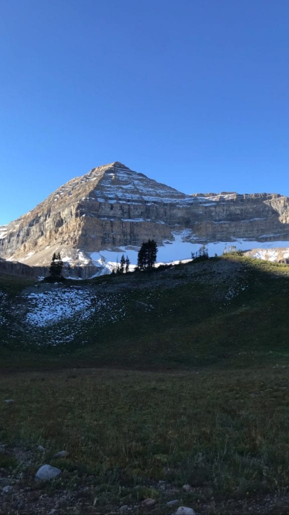 Back side of Mt Timpanogos