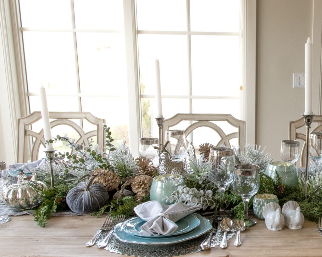 centerpiece garland