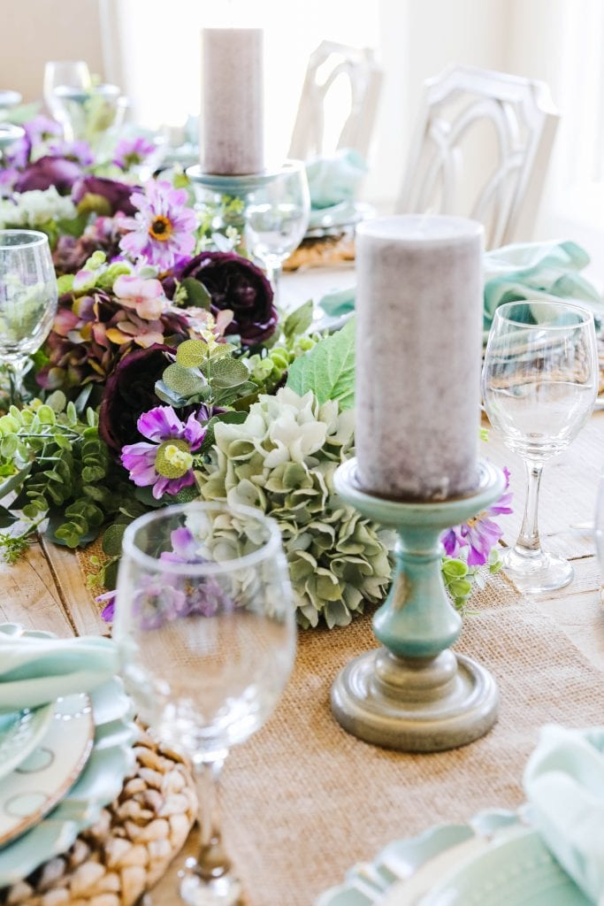 centerpiece spring easter
