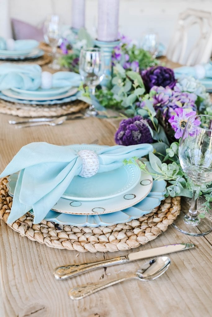 place-setting tablesetting easter i