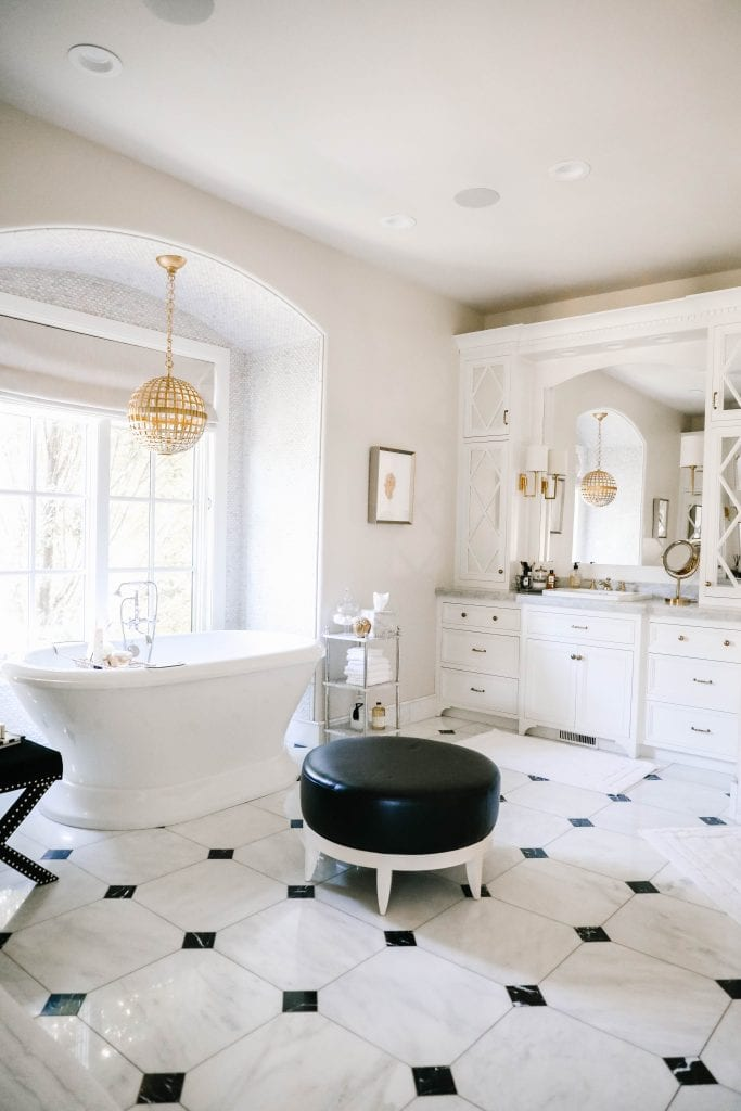 master bathroom spring refresh
