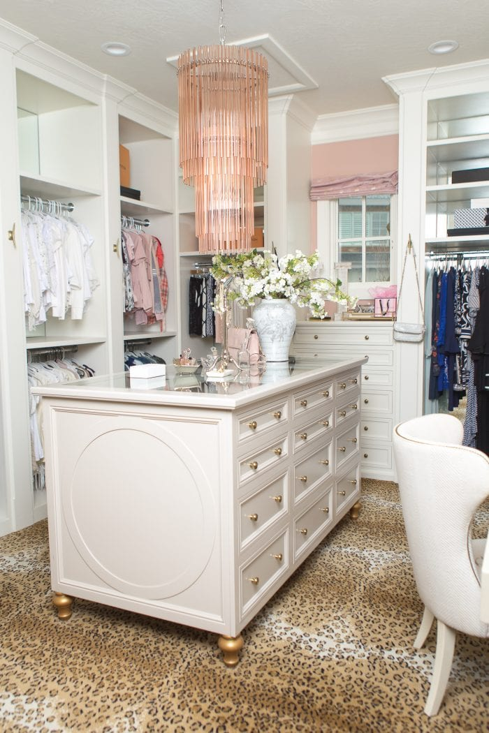A Beautiful + Organized Master Closet