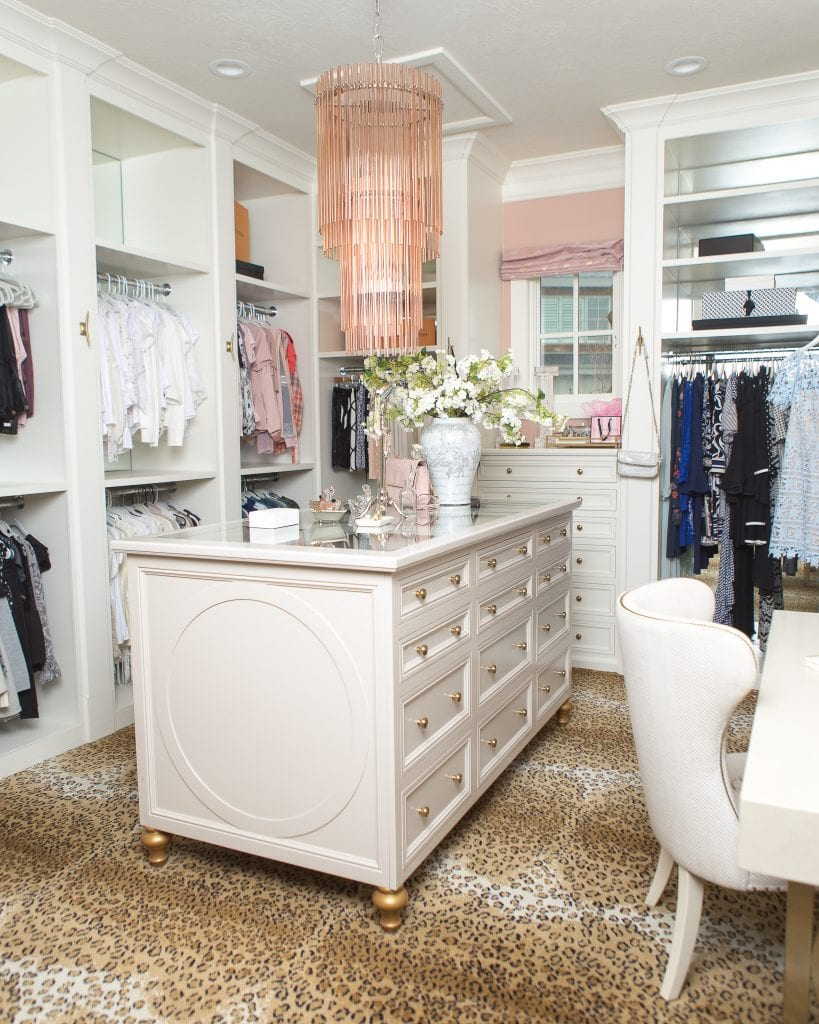 closet reveal organization