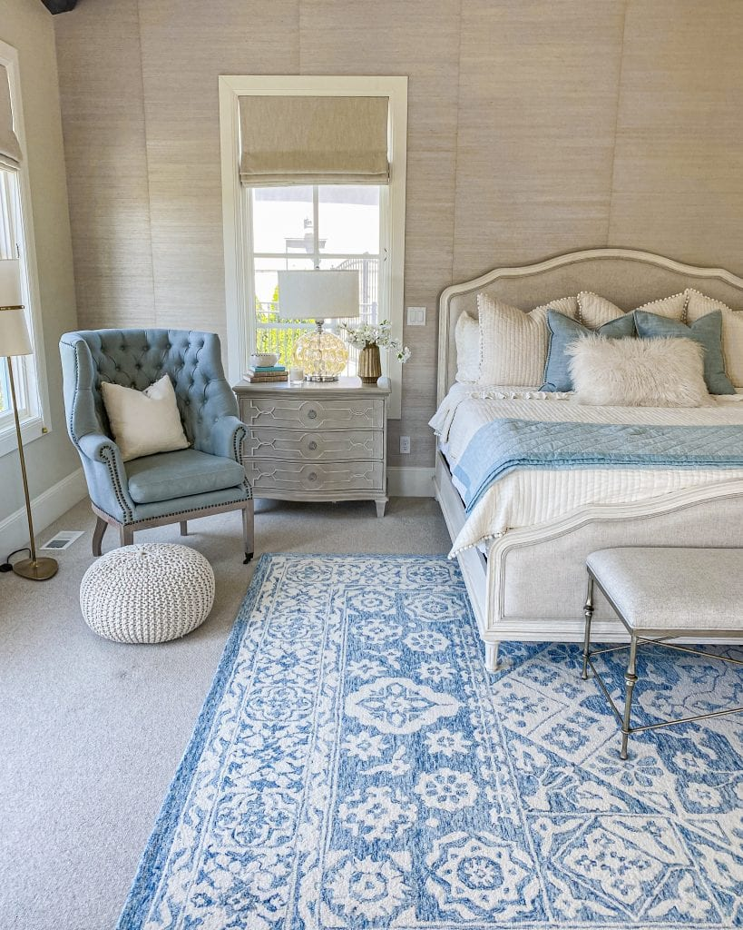 master bedroom French country refresh