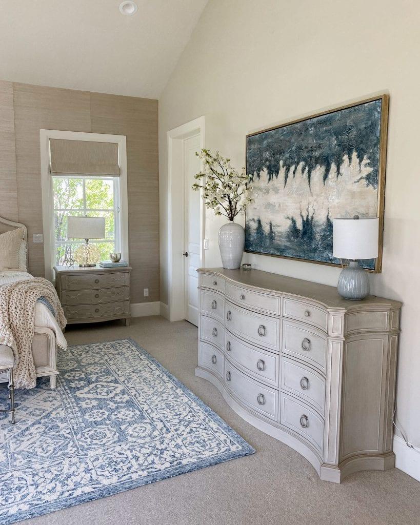 master bedroom artwork furniture