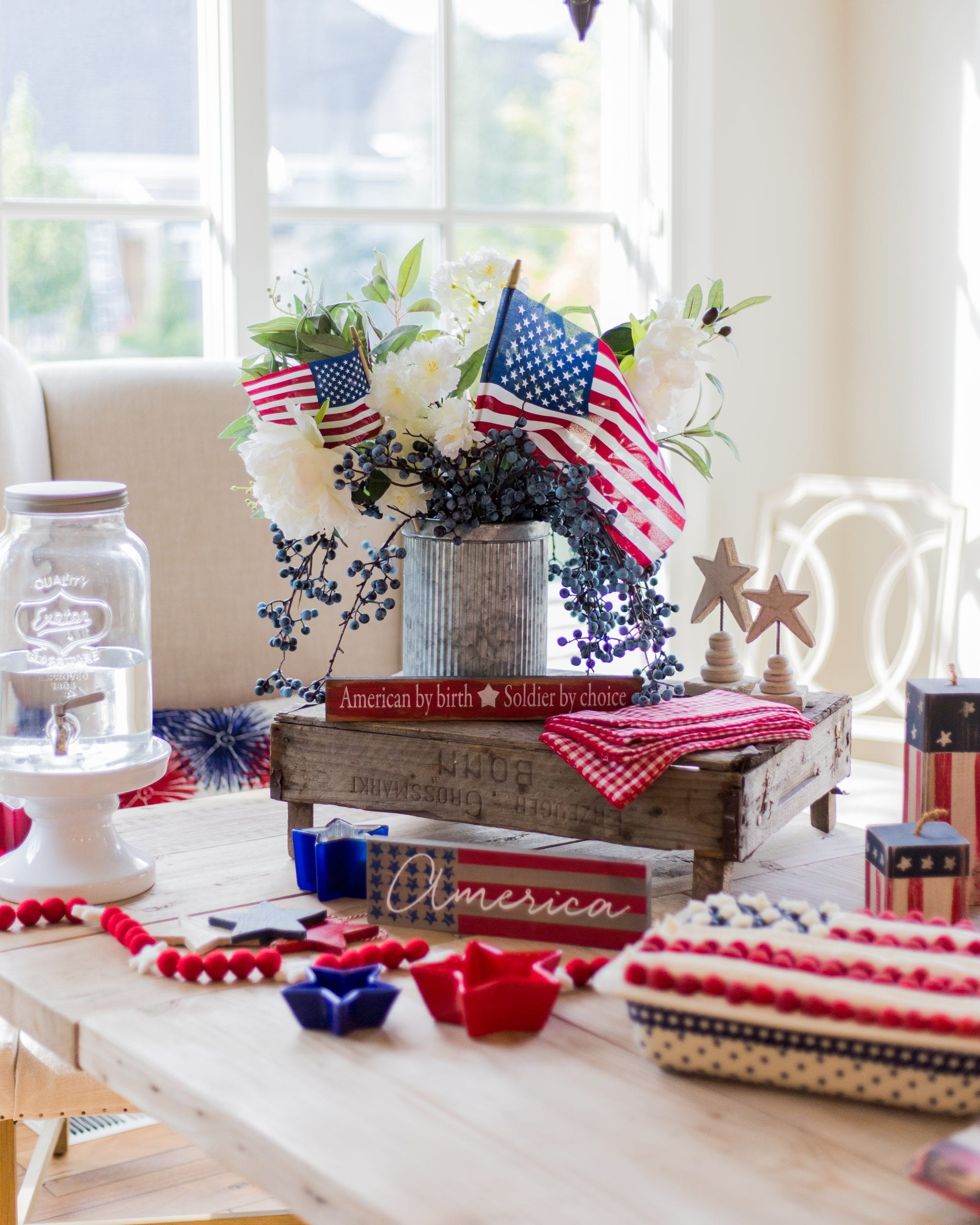 Fourth of July Tablescape ideas