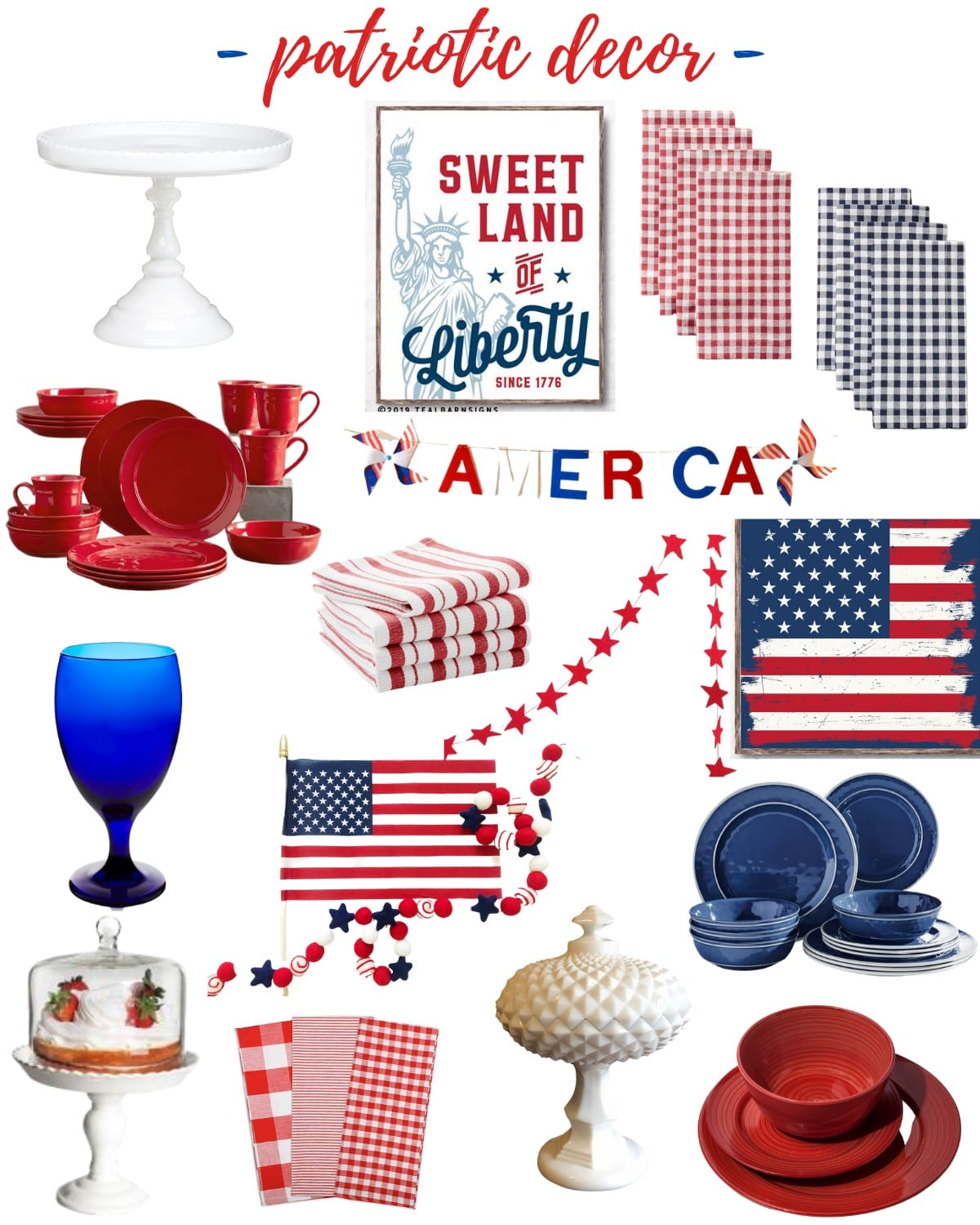 Fourth of July tablescape source3s