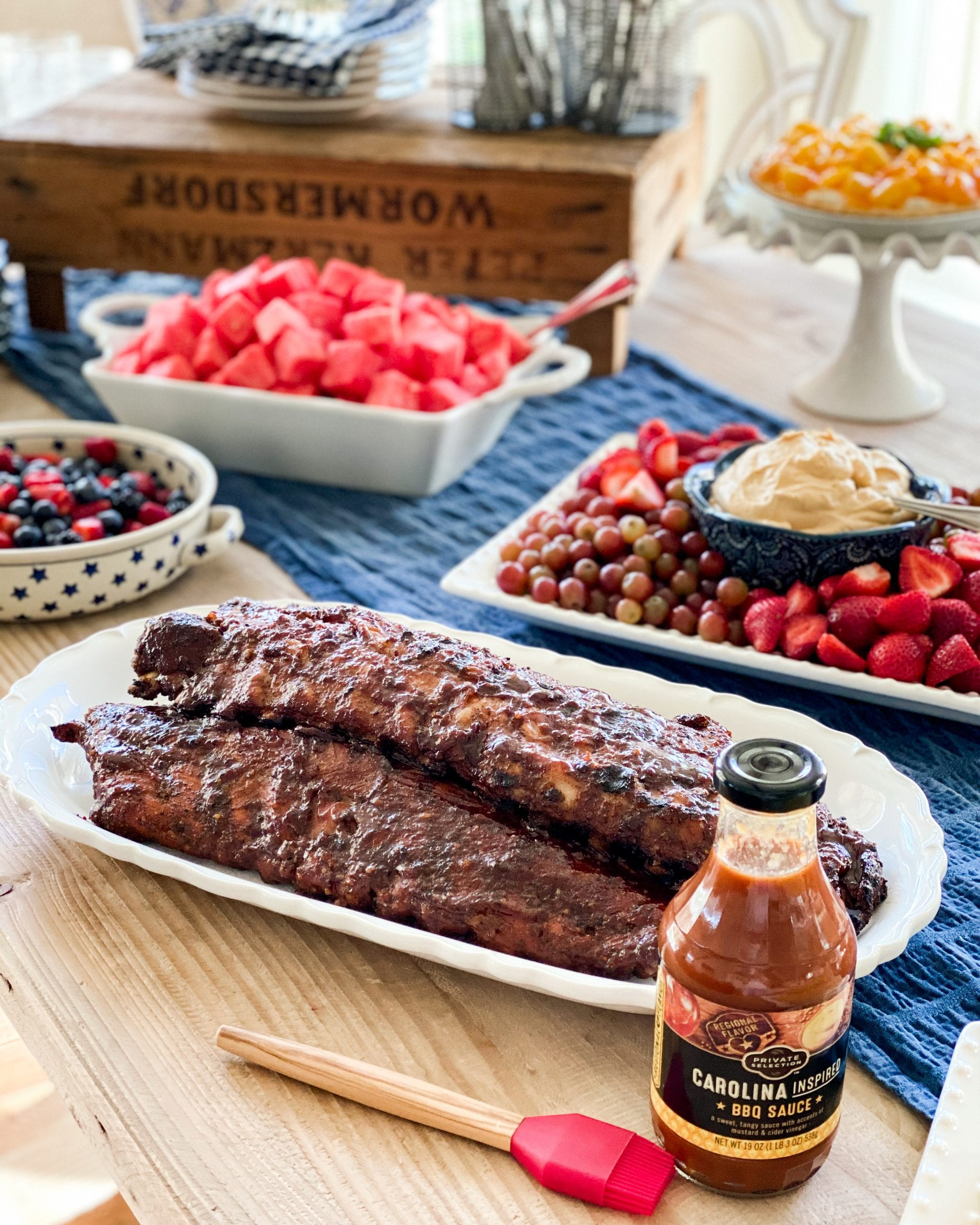 private selection Fred Meyer Kroger brand summer barbecue recipes