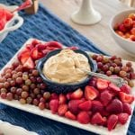 caramel cream cheese fruit dip recipe