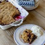 blackberry crumble recipes