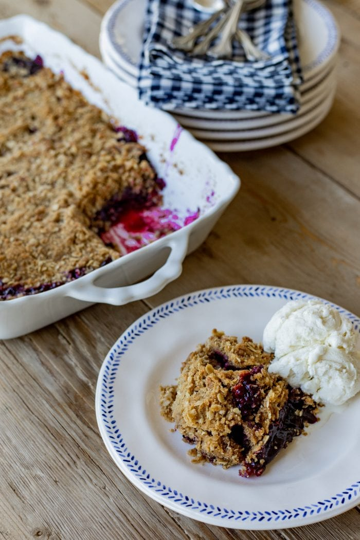 The Best Blackberry Crumble Recipe