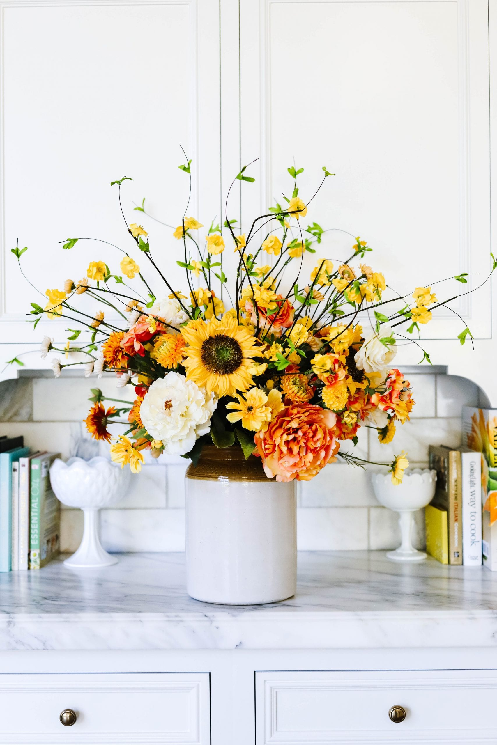 sunflower fall decor
