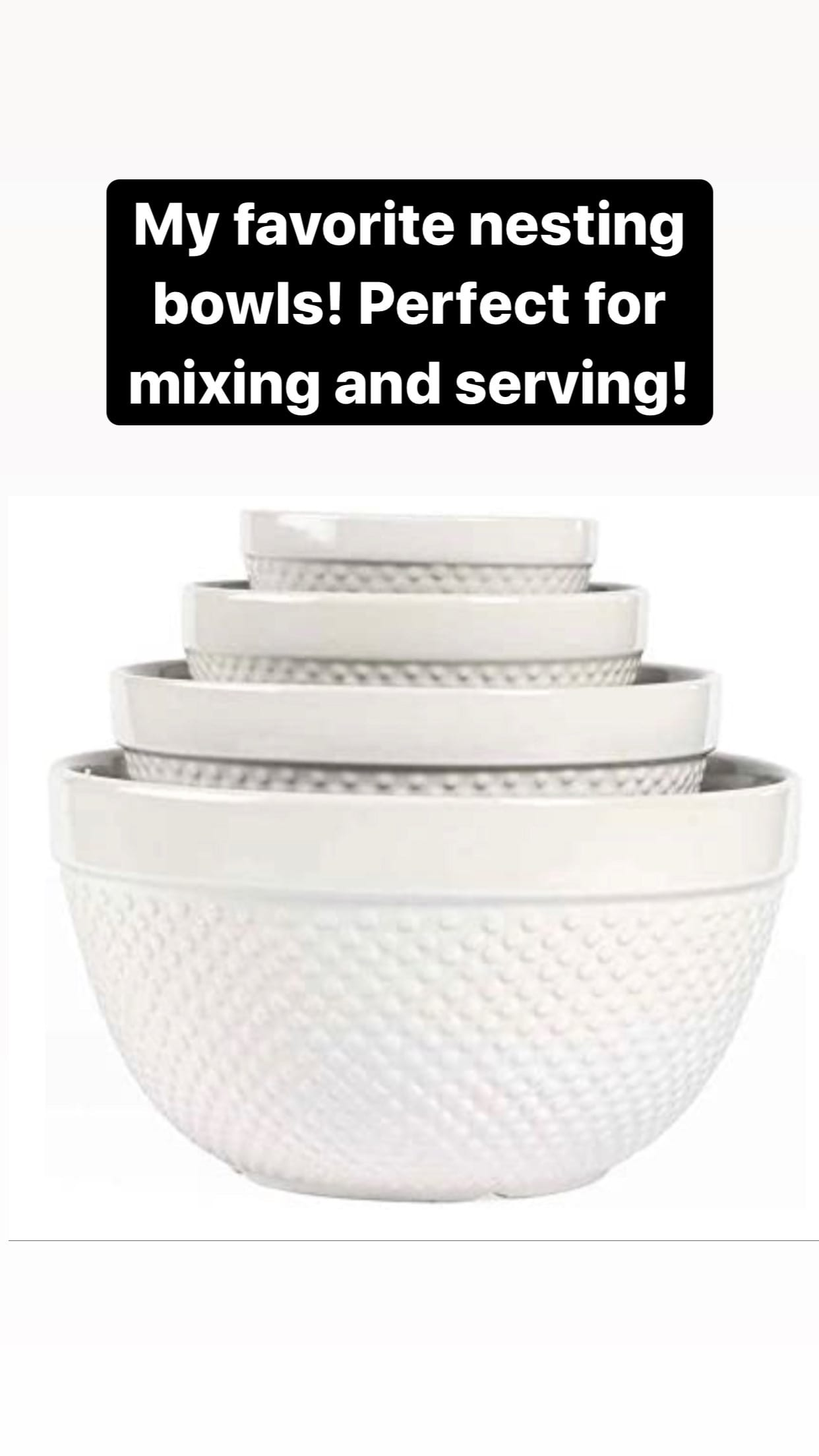favorite nesting mixing bowls kitchen
