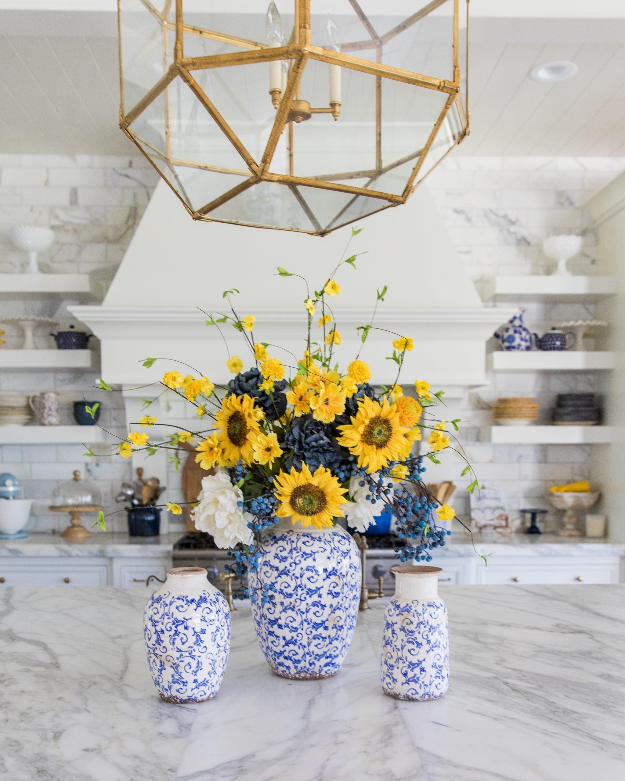 Diy Floral Arrangement Summer And Fall Floral Arrangements
