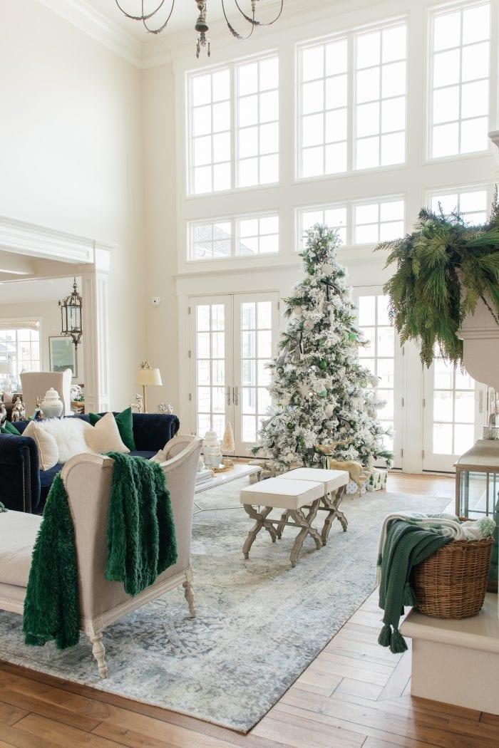 Christmas Home Tour 2019 – A Green and Ivory Christmas