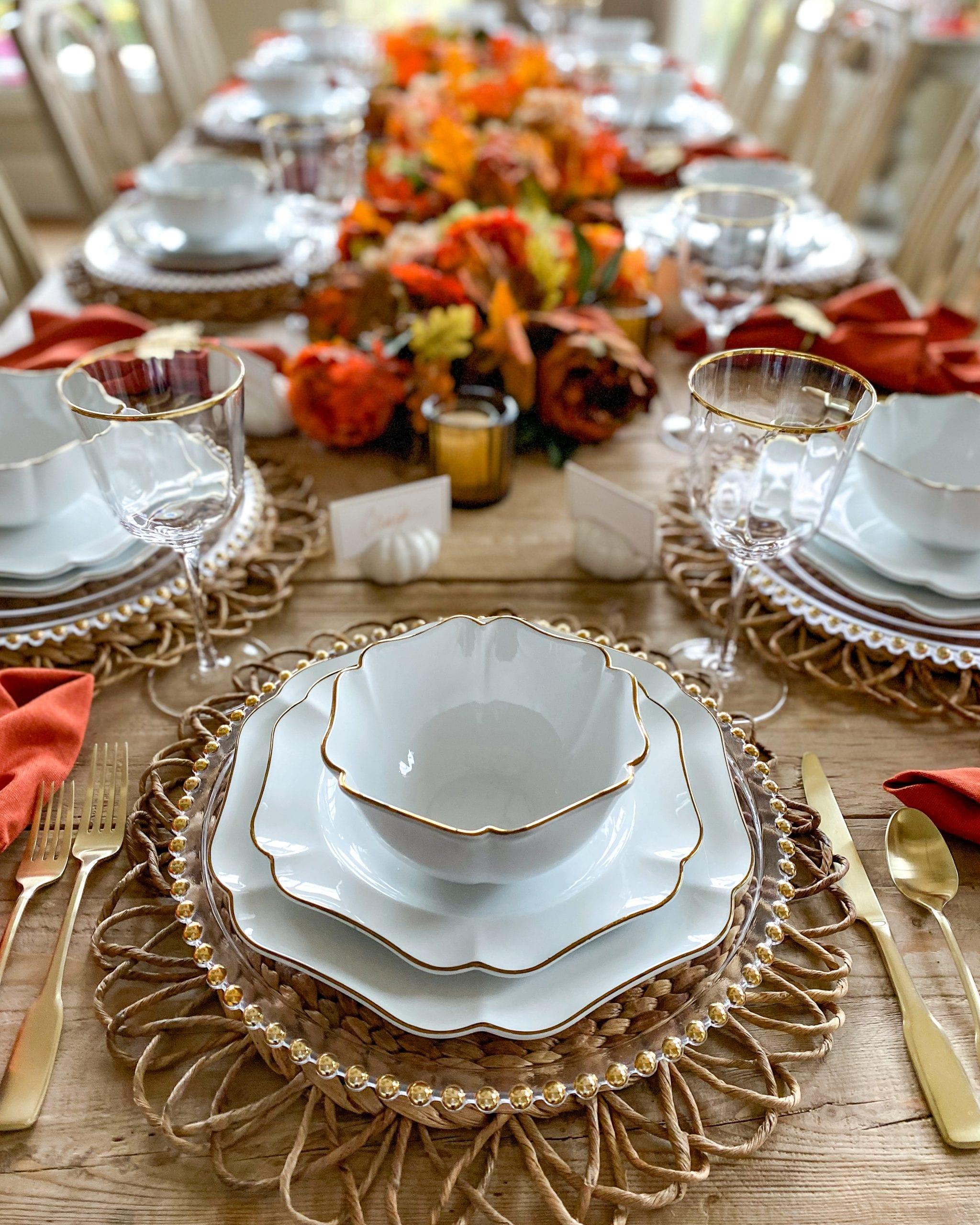 thanksgiving fall table