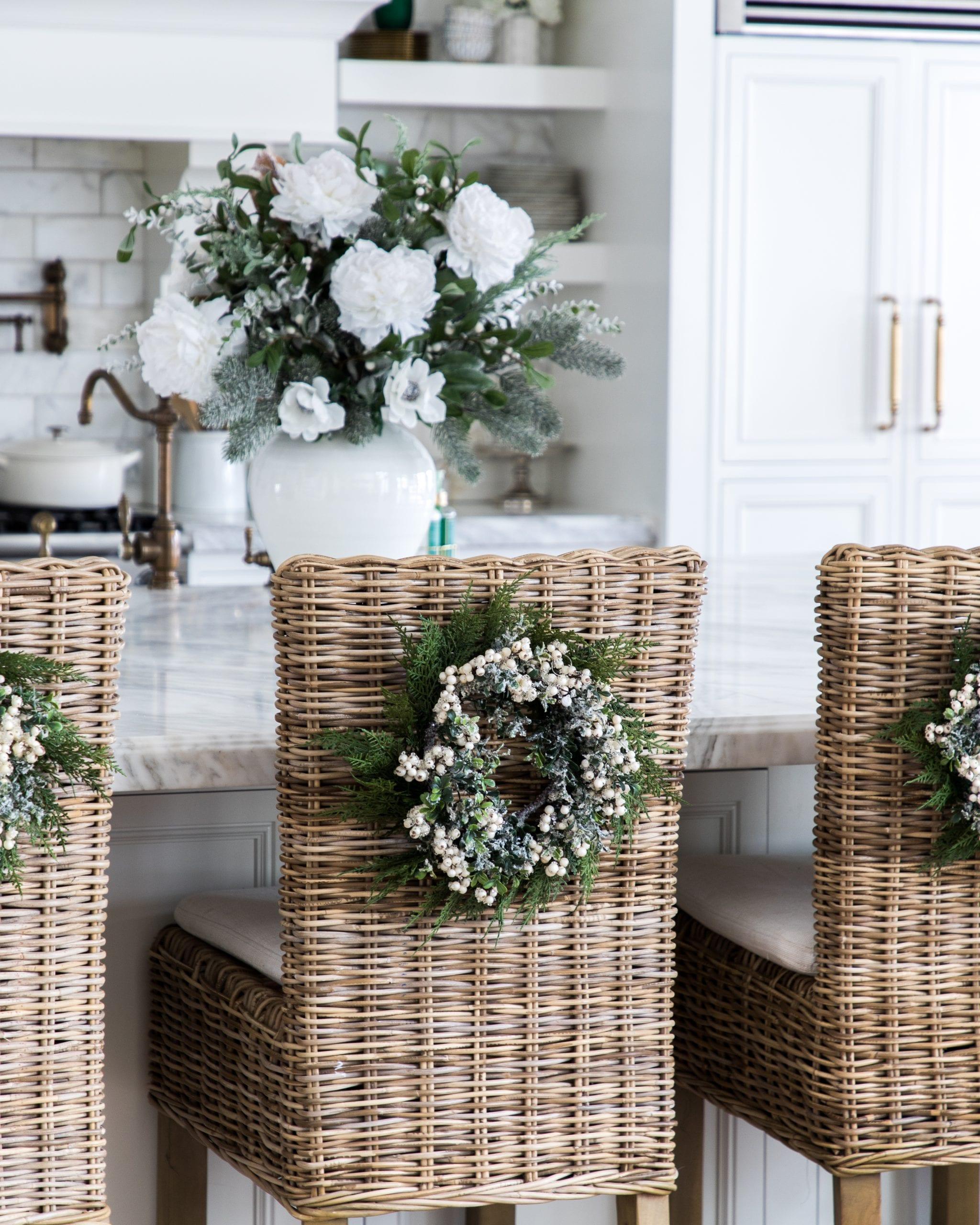 barstools wreaths