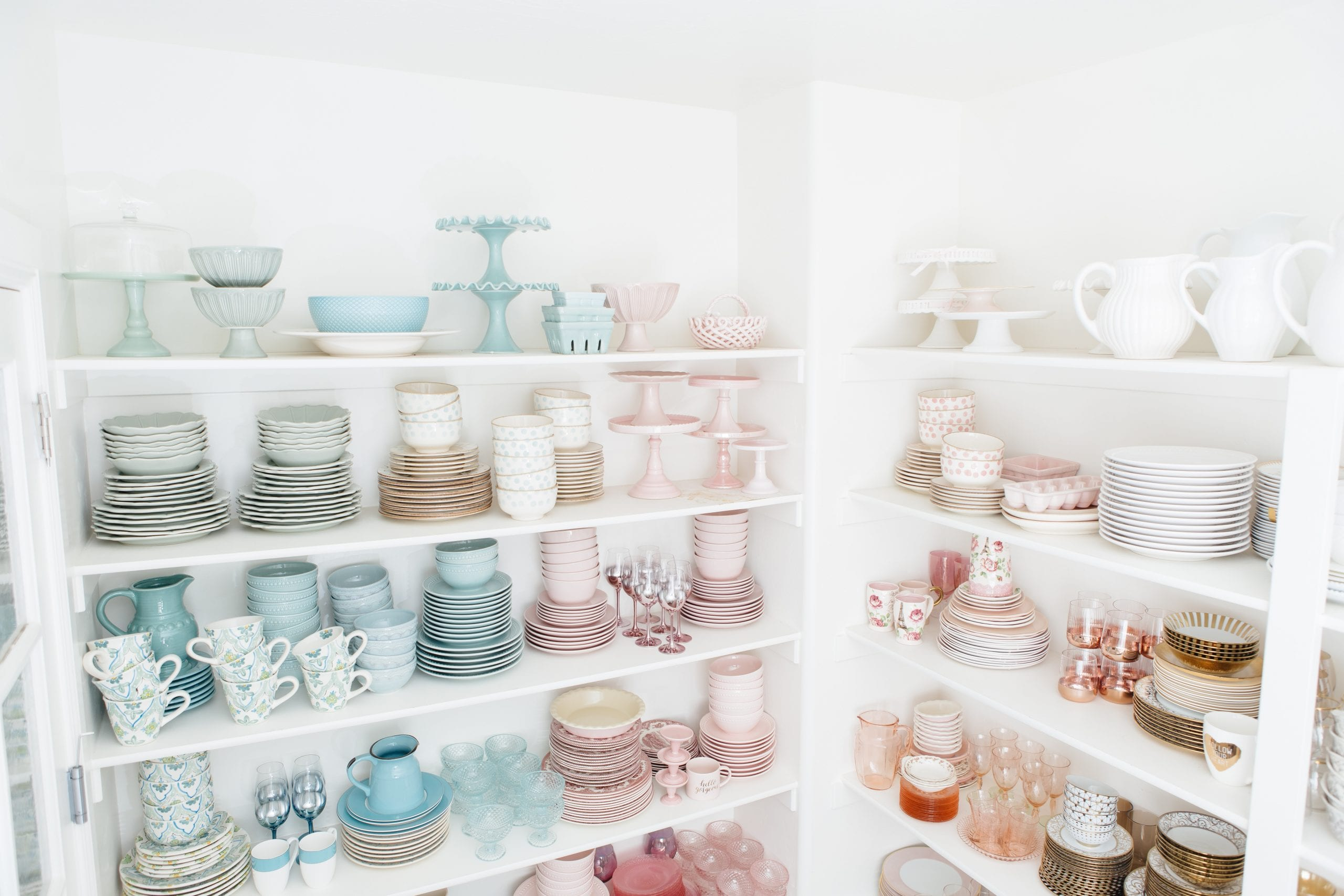 pastel dish collection