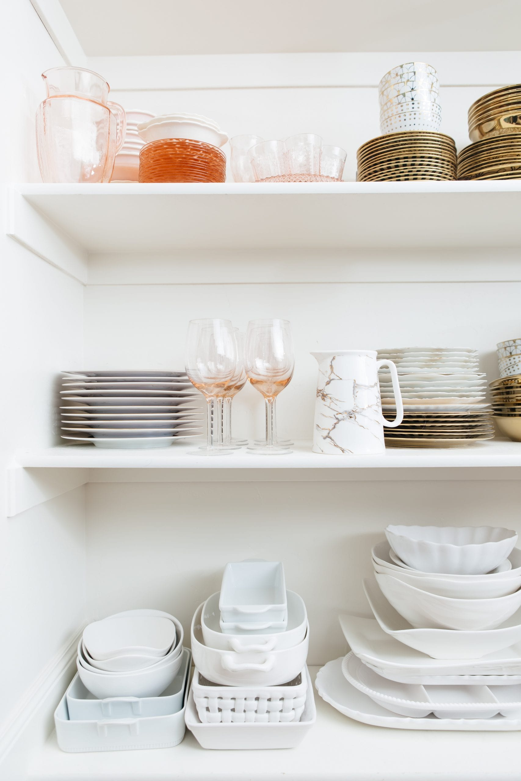 organize and store dish collection