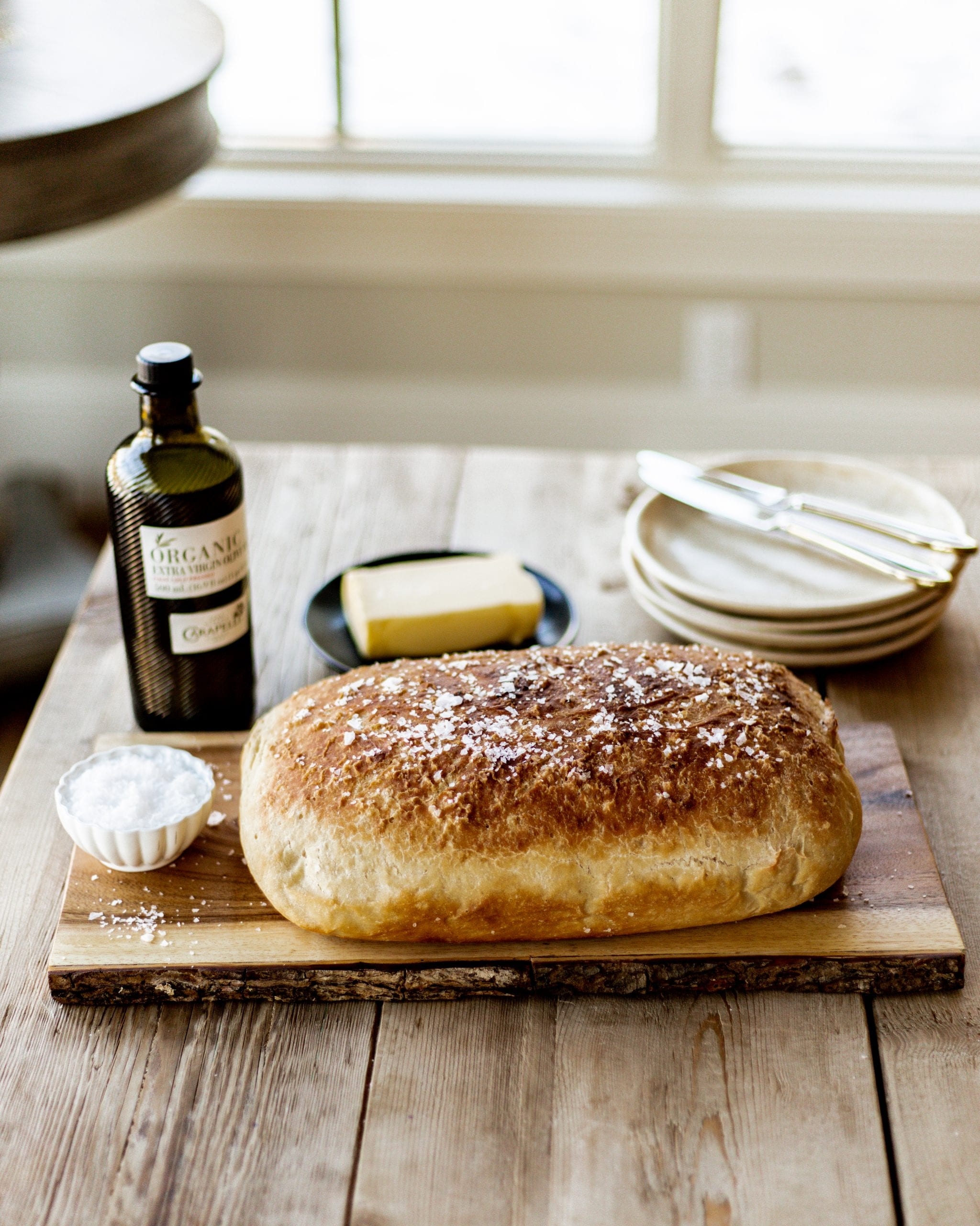 rustic homemade bread recipe
