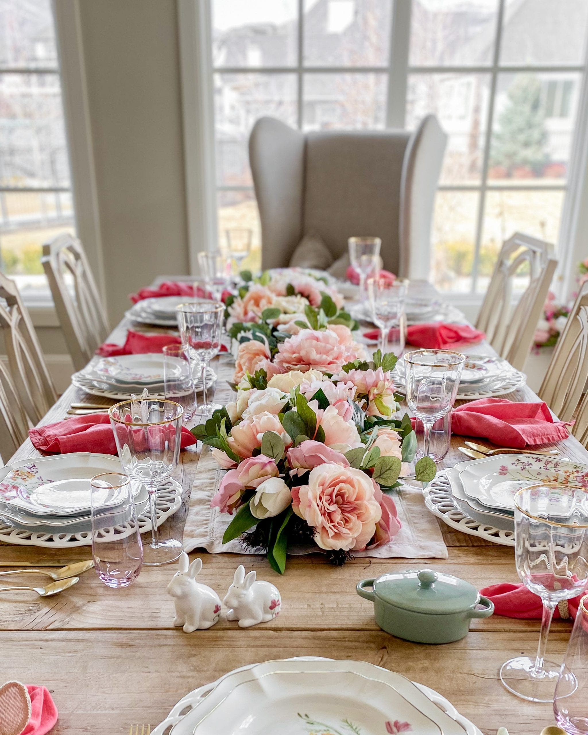 Martha Stewart collection spring tablescape
