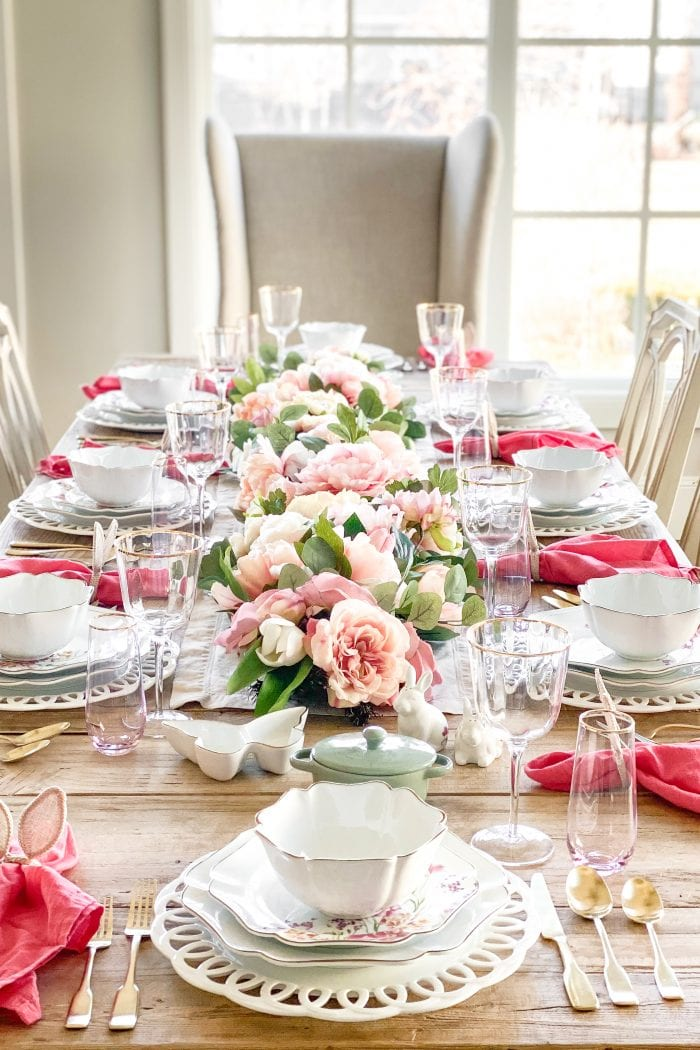 Martha Stewart Collection Spring and Easter Tablescape