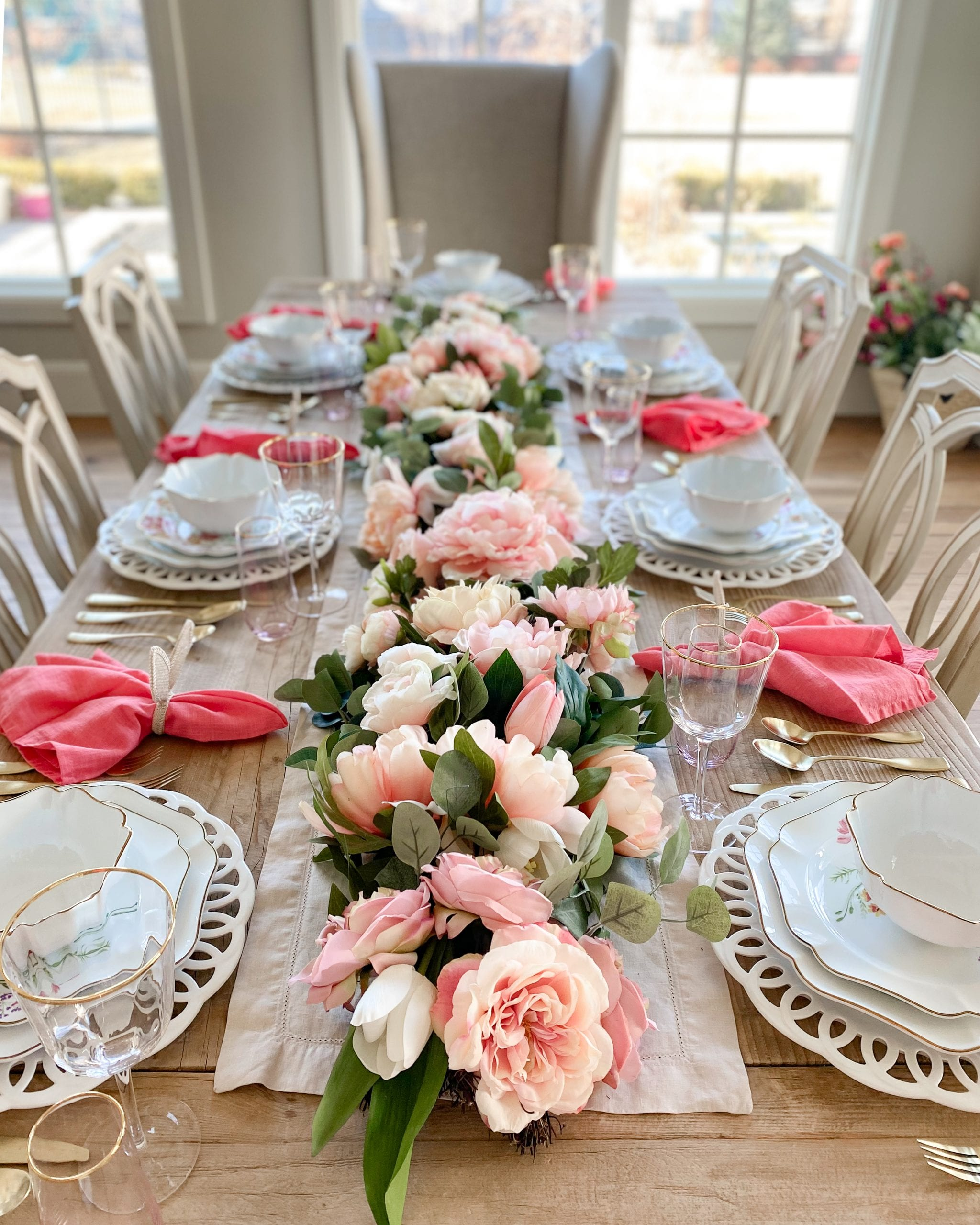 tablescape centerpiece