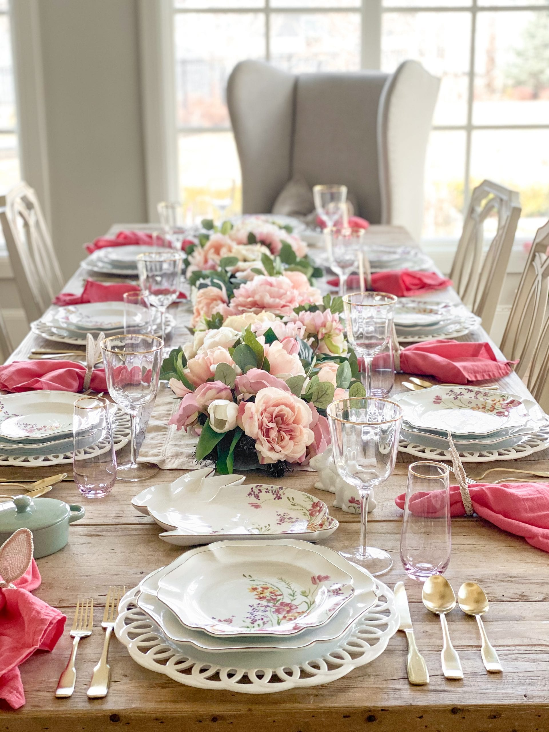 Martha Stewart baroque dinnerware collection