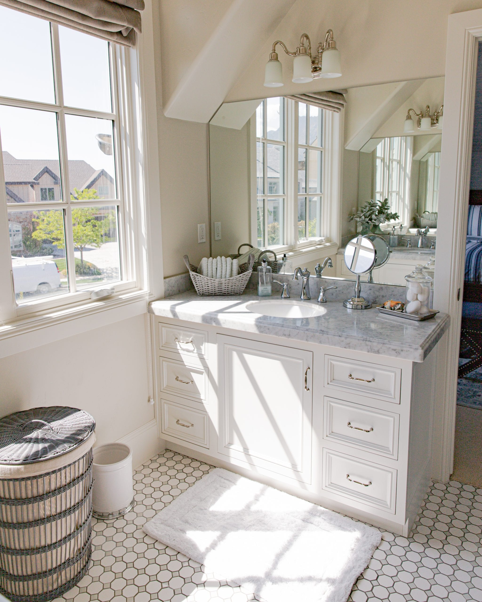 bathroom | How To Prepare Your Home For Guests | Home With Holly J