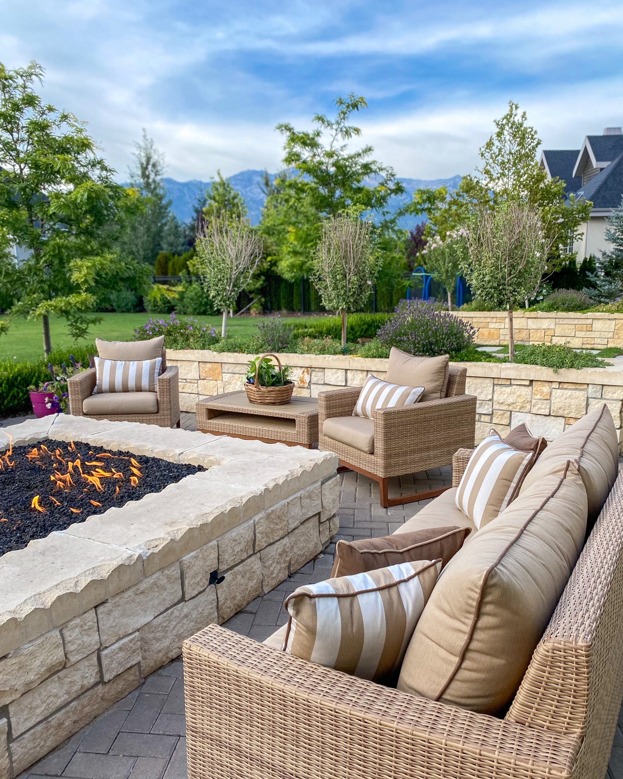 outdoor fire pit patio furniture